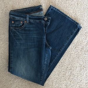 American Eagle Dark Wash Boot Cut Jeans